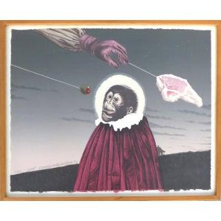 1977 Donald Roller Wilson Lithograph