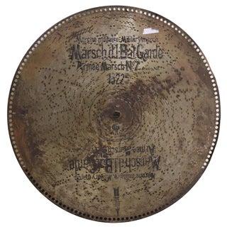 Antique Polyphon Music Disc