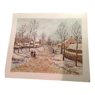 Leila Pissarro Signed & Numbered Artist Lithograph