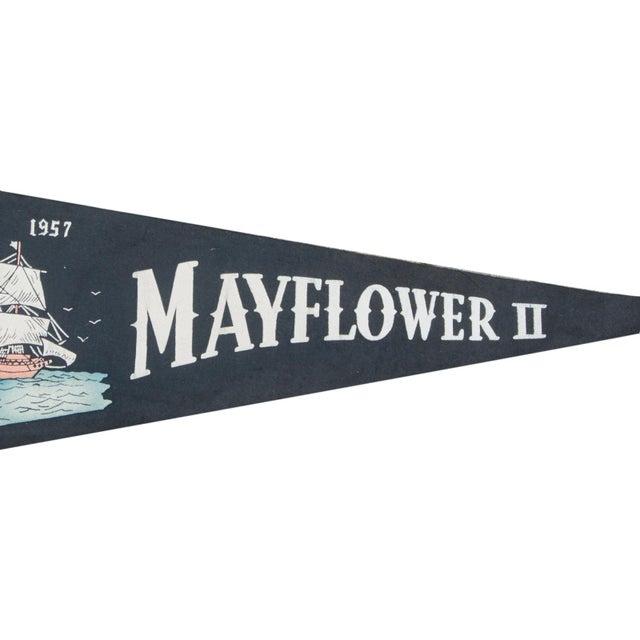 Vintage Mayflower II Felt Flag Banner - Image 2 of 2