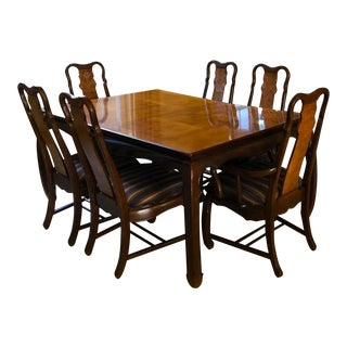 Thomasville Formal Dining Room Table & Chairs