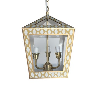 Tucker Hanging Lantern in Taupe