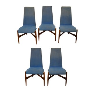 Kodawood Mid-century Bentwood Chairs - Set of 5
