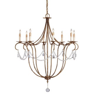 Currey & Co. Crystal Lights Chandelier