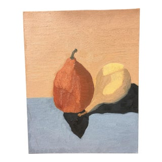 """Pears"" Contemporary Oil Painting Study"