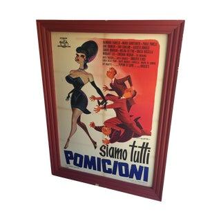 1962 Italian Movie Poster
