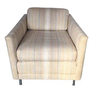 Mid-Century Habitat Striped Chair