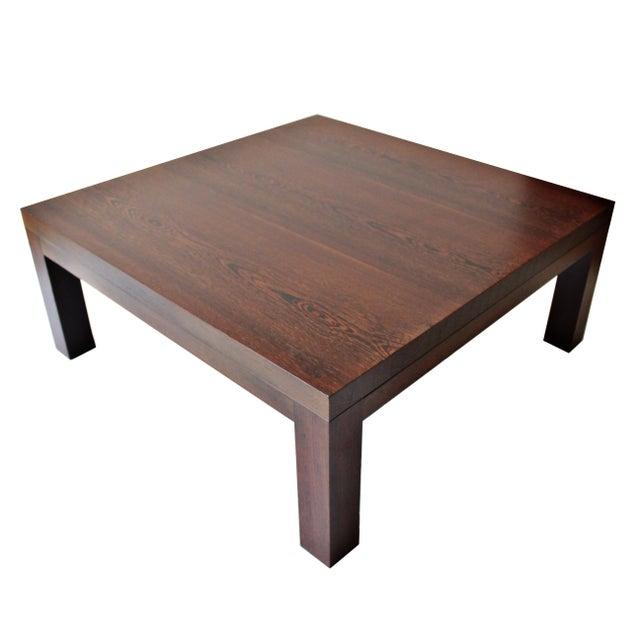 Spencer Fung Custom Wenge Wood Coffee Table - Image 1 of 9