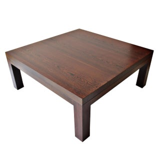Spencer Fung Wenge Wood Coffee Table