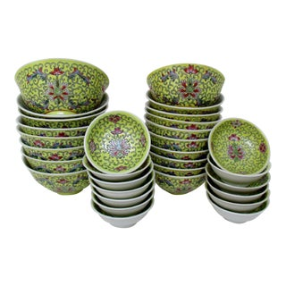 Chinese Porcelain Bowls - Set of 31