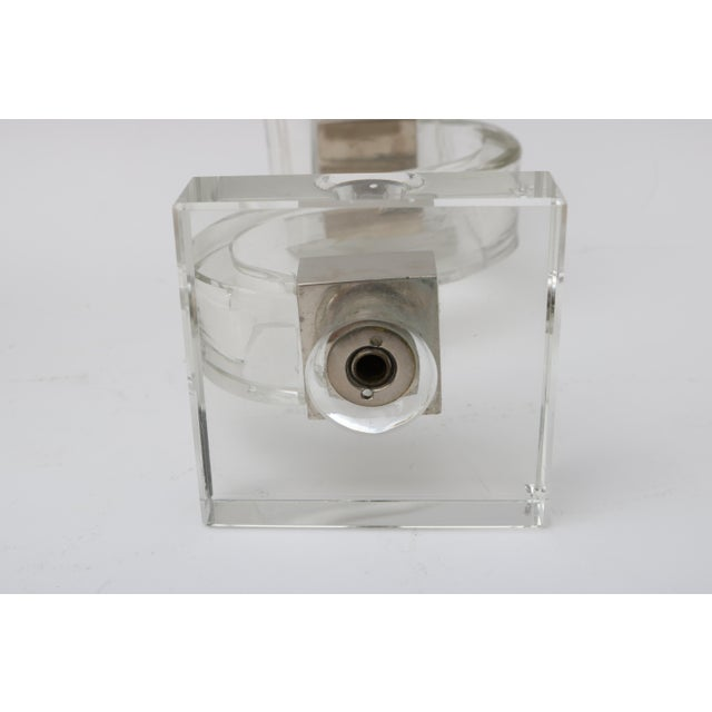 Polished Chrome Trim Candle Holders - A Pair - Image 9 of 9