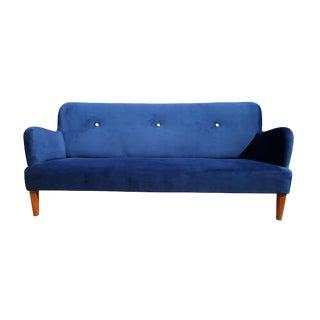 1940's A.J. Iversen Danish Sofa