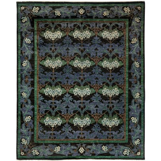 Arts & Crafts Hand Knotted Area Rug - 8' X 9'10""