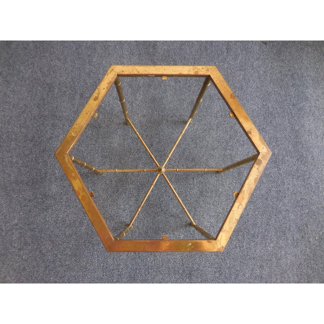 Brass Side Tables by Mastercraft - Pair - Image 3 of 7