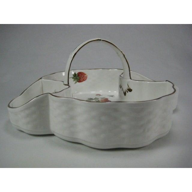 Coalport Bone China Strawberry Basket - Image 3 of 9