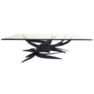 Silas Seandel Style Brutalist Coffee Table