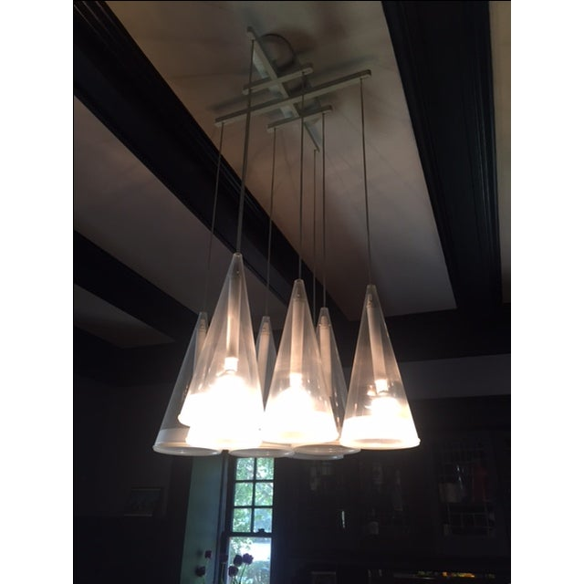 Design Within Reach Fuscia Pendant Lamp 8 - Image 2 of 3