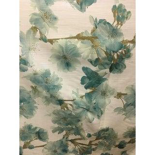 Richloom Floral Fabric - 5 Yards