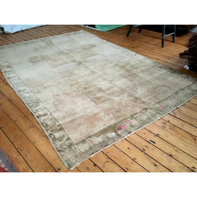 "Vintage Oushak Carpet - 8'3"" X 11'5"" - Image 2 of 7"