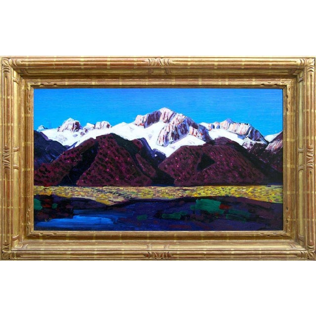 "Conrad Buff Vintage ""Sierra Mountains"" Painting - Image 1 of 9"