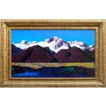 """Image of Conrad Buff Vintage """"Sierra Mountains"""" Painting"""