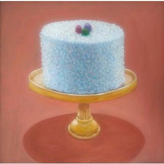 Paula McCarty Coconut Cake Oil Painting