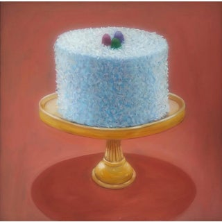 Paula McCarty Coconut Cake Oil Painting