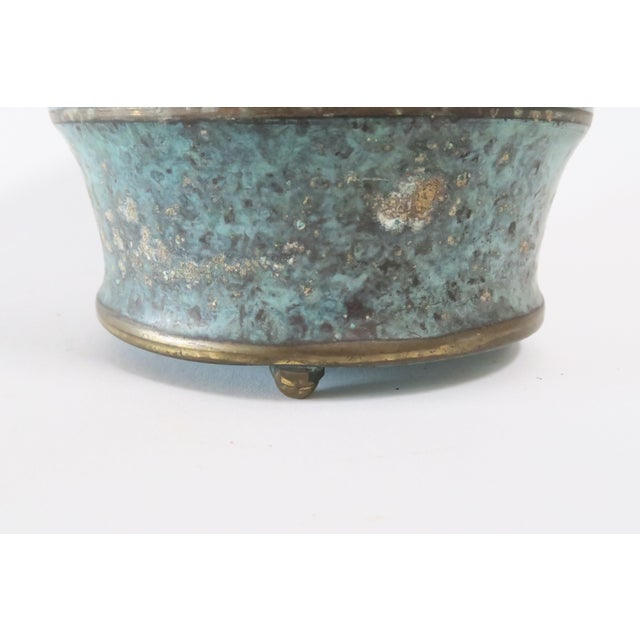 Vintage Italian Bronze Vase - Image 5 of 7