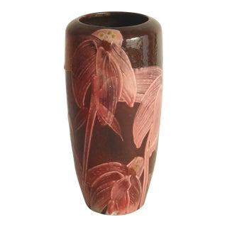 Art Nouveau Studio Ceramic Vase