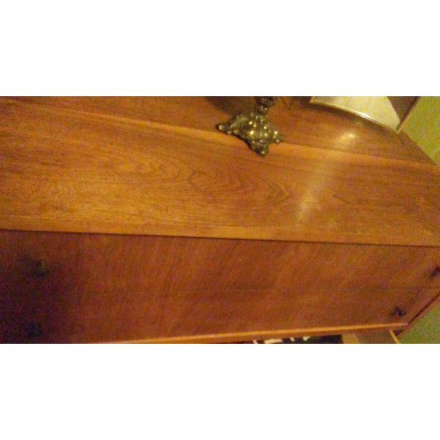 Mid-Century Modern Wooden Dresser - Image 4 of 5