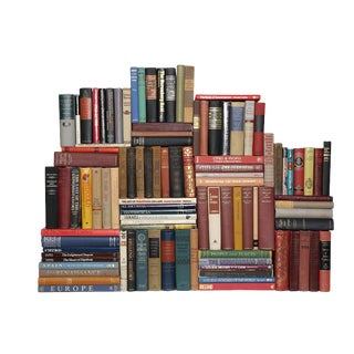 Curated World History Books - Set of 100