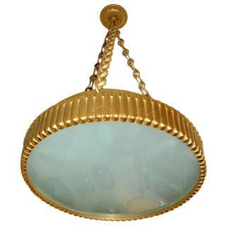Satin D'ore Bronze Hanging Plafonnier