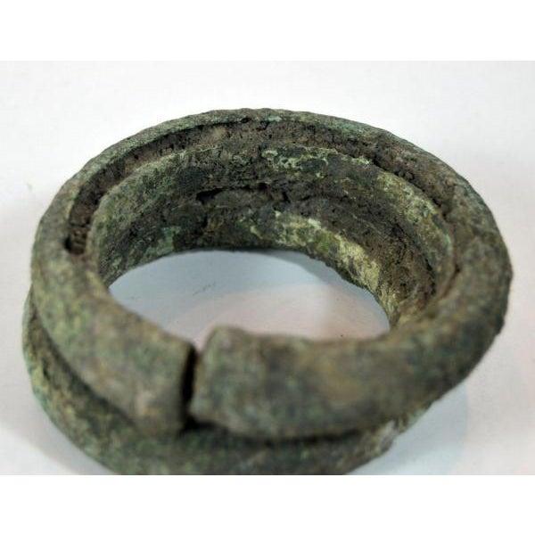 Antique Bronze Ban Chiang Bronze Bracelet - Image 6 of 8