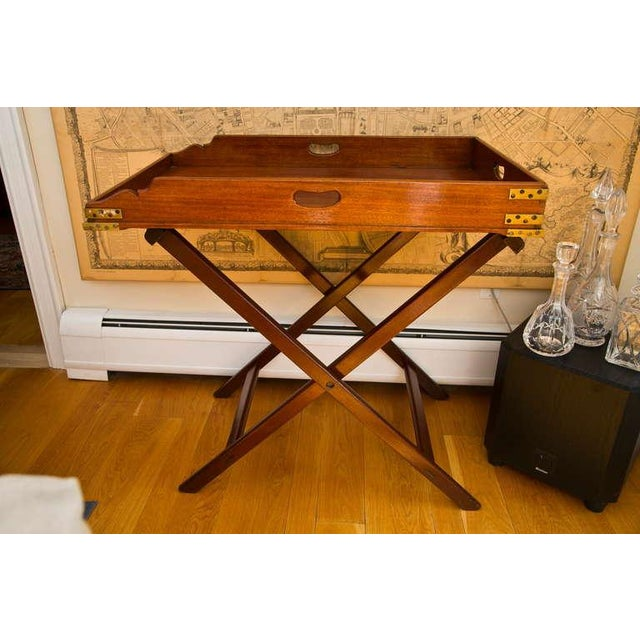 Antique Butler's Tray Table - Image 2 of 10