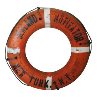 Sealand Motvator of New York Life Preserver Ring