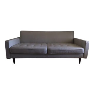 Joybird Niles Leather Loveseat