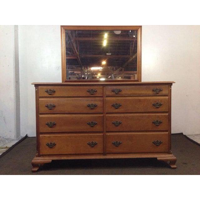 Stickley Leopold Cherry Valley Vanity Dresser Chairish