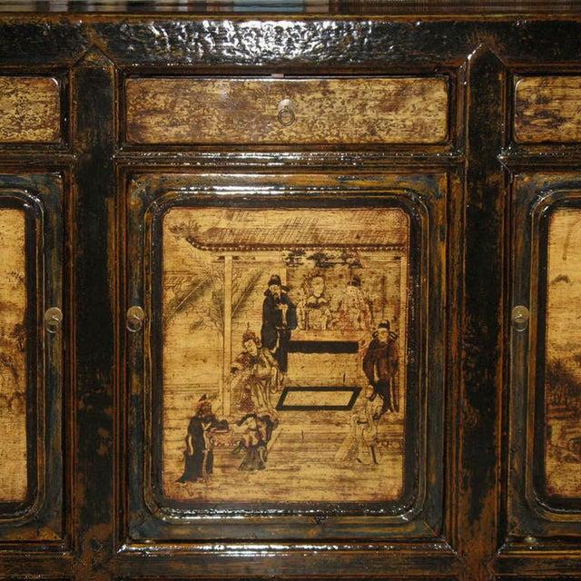 Painted Gansu Sideboard - Image 6 of 6