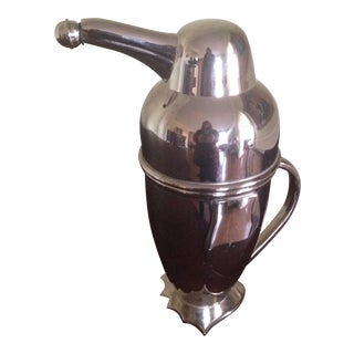 Restoration Hardware Penguin Cocktail Shaker