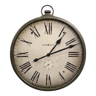 Howard Miller Pocket Watch Style Wall Clock