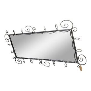 Pietrarte of Los Angeles Metal Frame Mirror
