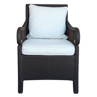 Century Furniture Outdoor Wicker Armchair