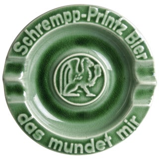 Vintage Herbert Wittekind Schempp-Printz German Beer Ashtray