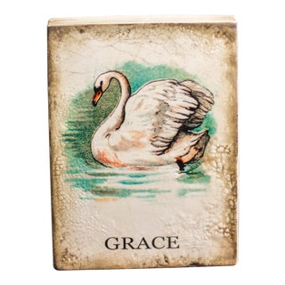 Swan Retired Sid Dickens Memory Block