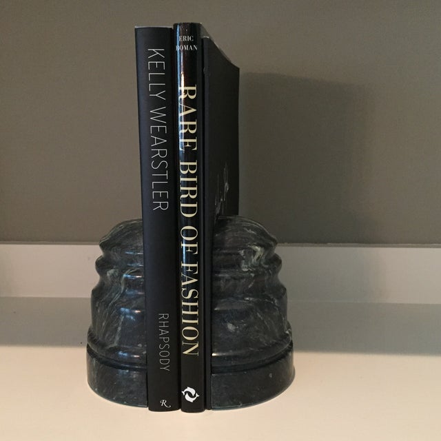 Vintage Marble Book Ends - A Pair - Image 6 of 8