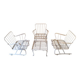 Mid Century Outdoor Furniture - Set of 4