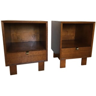George Nelson for Herman Miller Nightstands - Pair