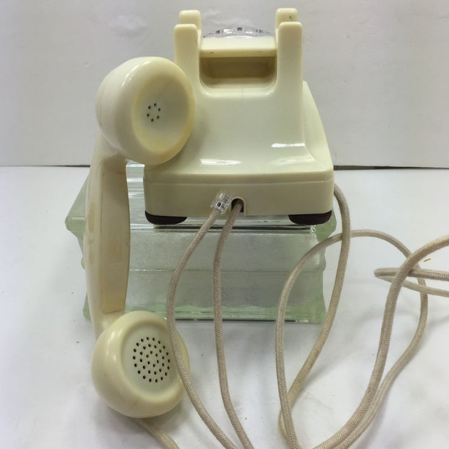 Western Electric 1953 Ivory 302 Telephone - Image 5 of 8