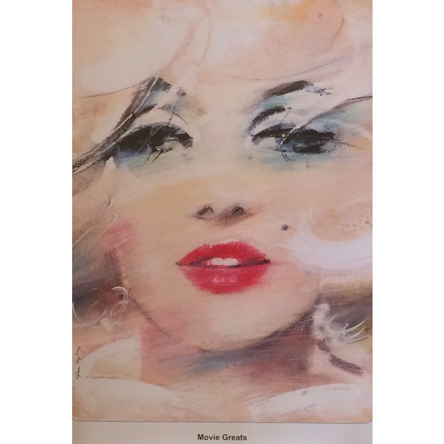 Image of Marilyn Monroe Movie Great Polish Poster