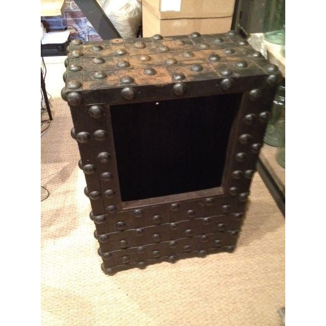 Image of Industrial Era Old Safe Coffee Table